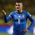 """Italia, Verratti: """"Temevo di dover saltare l'Europeo, qui non esistono titolari. Vittoria finale? Ci crediamo"""""""