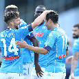 RILEGGI LIVE - Napoli-Atalanta 4-1 (23', 27' Lozano, 30' Politano, 43' Osimhen, 69 Lammers): straripanti!