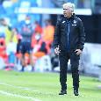 """Atalanta, Gasperini: """"Vogliamo vincere per dimenticare la gara di Napoli"""""""
