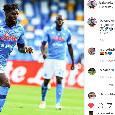 """Bakayoko sui social: """"Che sensazione giocare di nuovo dopo sei mesi, Forza Napoli Sempre!"""" [FOTO]"""