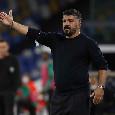 Formazioni ufficiali Rijeka-Napoli: Gattuso sceglie Meret, in attacco Elmas e Petagna. Insigne parte dalla panchina
