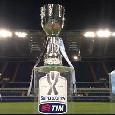 Supercoppa italiana, dove vedere Juve-Napoli in streaming e tv? Si gioca mercoledì alle 21