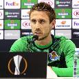 """Real Sociedad, Nacho Monreal: """"Giocheremo a viso aperto contro il Napoli anche se ci mancheranno molto Oyarzabal e David Silva"""""""