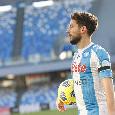 """SSC Napoli: """"Tutti negativi i tamponi al Covid-19, anche quello di Mertens rientrato stamattina in Italia"""""""