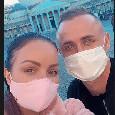 Lobotka si gode la città, eccolo ieri con la moglie a Piazza del Plebiscito [FOTO]