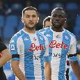 UFFICIALE - Napoli-Fiorentina, i convocati di Gattuso: out lo squalificato Di Lorenzo, recupero lampo per Manolas