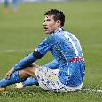 """Napoli-Fiorentina, Gattuso sostituisce Lozano al 62'. Callegari: """"Lo vuole preservare per la Supercoppa"""""""