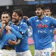 """Il commento della SSC Napoli: """"Ce n'è per per tutti i gusti nel pomeriggio succulento del Maradona. Adesso il 4° atto della Supercoppa..."""""""
