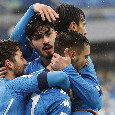 Napoli-Fiorentina, Gattuso concede al giovanissimo Antonio Cioffi la gioia dell'esordio in Serie A [FOTOGALLERY CN24]