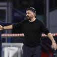 Così diretto contro De Laurentiis mai nessuno come Gattuso: come se l'idea dell'addio fosse già metabolizzata