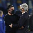 Dominio Atalanta e Napoli innocuo, Gattuso gioca 90' per lo 0-0: resa o mossa vincente ce lo dirà il ritorno