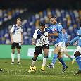 Coppa Italia, le statistiche di Atalanta-Napoli: azzurri mai in finale per due volte di seguito, non c'è bis di vittorie in trasferta dal tandem Fermana-Como del '99