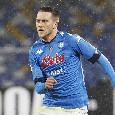 Quello di Zielinski è il gol più veloce segnato dal Napoli nella sua storia in Europa League