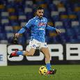 SSC Napoli, report allenamento: Manolas ha lavorato in parte con il gruppo, ancora a parte Lozano e Petagna