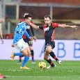 Pagelle Genoa-Napoli: Maksimovic regala un gol, Manolas dimentica Pandev! Politano al posto giusto, Insigne sbatte sul palo