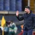 Repubblica - Gattuso vuole entrare nella storia nel momento più buio, mai due Finali di fila per il Napoli