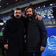 Juve-Napoli, le ultimissime di formazione Sky: Gattuso 'scala' Zielinski, sarà 4-3-3! Novità in difesa, Lozano e McKennie dal 1'
