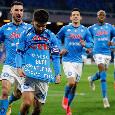 Dalla dedica di Insigne allo strangolamento Danilo-Politano: le emozioni di Napoli-Juventus 1-0 [FOTOGALLERY CN24]
