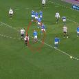 L'urlo di dolore e il salvataggio difensivo, ecco i 5 minuti finali in cui Lozano ha stretto i denti contro la Juve! [VIDEO]