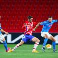 RILEGGI DIRETTA - Granada-Napoli 2-0 (19' Herrera, 21' Kenedy): Meret salva gli azzurri dalla disfatta totale!