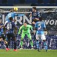 Dalle mani in testa di Mario Rui all'esultanza della Dea: le emozioni di Atalanta-Napoli 4-2 [FOTOGALLERY CN24]