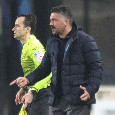 Test negativo ma Gattuso non ha diretto l'ultimo allenamento prima della partenza per Reggio Emilia