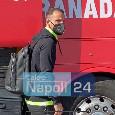 """Il Granada è arrivato all'hotel Britannique di Napoli! Soldado: """"Condizioni fisiche ok"""" [VIDEO & FOTOGALLERY CN24]"""