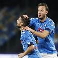 RILEGGI LA DIRETTA - Napoli-Benevento 2-0 (33' Mertens, 65' Politano): tre punti in scioltezza