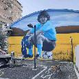 Murales stupendo a Gragnano dedicato a Maradona [FOTO]