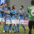 Pagelle Sassuolo-Napoli, i voti: Insigne si prende le responsabilità, Manolas imbarazzante! Hysaj preso in mezzo, Mertens in ombra