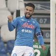 Sky - Napoli-Insigne, primi passi per il rinnovo di contratto