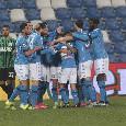 Gazzetta - Polveriera Napoli! La squadra chiederà conto ad Insigne degli insulti, De Laurentiis infuriato per i cambi di Gattuso