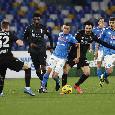 RILEGGI DIRETTA - Napoli-Bologna 3-1 (8', 76' Insigne, 65' Osimhen, 73' Soriano): gli azzurri tornano a vincere