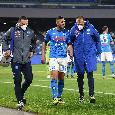 SSC Napoli: Ghoulam ha riportato un trauma distorsivo al ginocchio sinistro, si sottoporrà ad esami