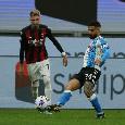 RILEGGI DIRETTA - Milan-Napoli 0-1 (49' Politano): gli azzurri battono i rossoneri!