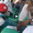 """""""Forza Senegal"""", Koulibaly carica i suoi dagli spalti contro il Congo [VIDEO]"""