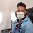 """La SSC Napoli lancia un messaggio con Mertens: """"In viaggio verso Torino"""" [FOTO]"""