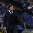 Serie A - Inter-Udinese in campo alle 15: le scelte ufficiali di Conte e Gotti
