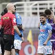 La smorfia di Insigne e il 'coccodrillo' Callejon: le emozioni di Fiorentina-Napoli 0-2 [FOTOGALLERY CN24]