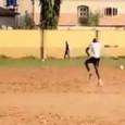 CorSport su Osimhen: si allena su un campo sgangherato ma più affascinante del Bernabeu