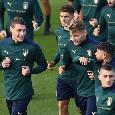 A Coverciano test dell'Italia contro la Cremonese Primavera, nel 9-1 finale triplette per Belotti e Chiesa