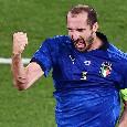 """Italia campione d'Europa, Chiellini: """"E' da maggio che lo dicevamo. Sirigu ci ha fatto piangere prima della partita"""""""