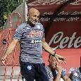 Napoli-Bassa Anaunia, Spalletti rivoluziona la squadra nella ripresa: ben 10 cambi