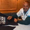"""SSC Napoli: """"Le T-Shirt ufficiali """"Sarò con te..."""" in vendita allo Store di Dimaro Folgarida: 30 sono autografate da Spalletti"""""""