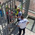 """Spalletti ricorda il passato con un fisioterapista del Castel di Sangro: """"Due grandi squadre... ricordo si prese Martino"""" [VIDEO CN24]"""