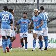 RILEGGI DIRETTA - Napoli-Pescara 4-0 (9' Osimhen; 18' rig. Insigne; 48' Ounas; 78' Zedadka): rovesciata di Ounas, che show!