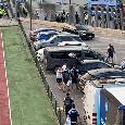 Insigne lascia Castel di Sangro con la propria auto: l'azzurro applaudito dai tifosi [VIDEO CN24]
