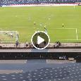 Koulibaly segna il gol vittoria, l'esultanza da brividi della Curva B è fantastica! [VIDEO]