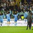 Dalla gioia 'rubata' di Insigne alla festa con i tifosi: le emozioni di Udinese-Napoli 0-4 [FOTOGALLERY CN24]