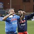 L'amata coppia Insigne-Starace e l'esuberante Osimhen: le emozioni di Sampdoria-Napoli 0-4 [FOTOGALLERY CN24]